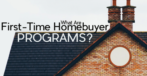First Time Home Buyer Programs new